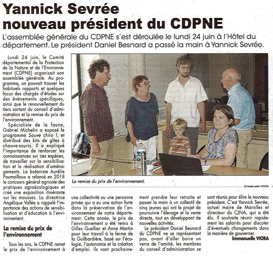 Yannick-Sevrée-président-CDPNE-assemblée-générale